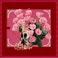Цветы и поздравленья!