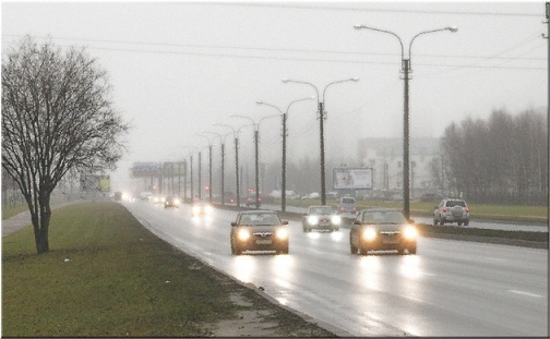 Владимир Захаров. Ненастная погода