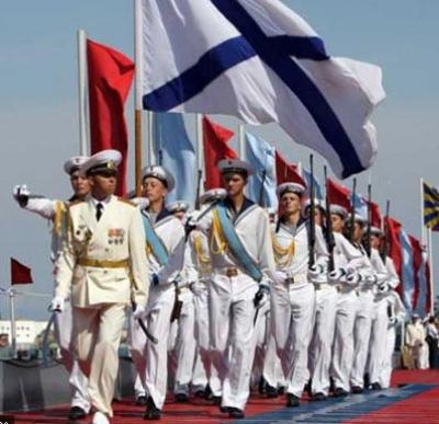 Сводный оркестр МВО - Марш ВМФ (День Победы)