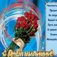 С Днём российской полиции!