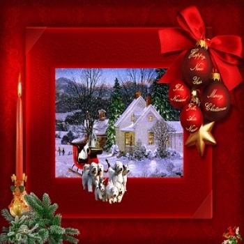 Спустилось птицей Рождество